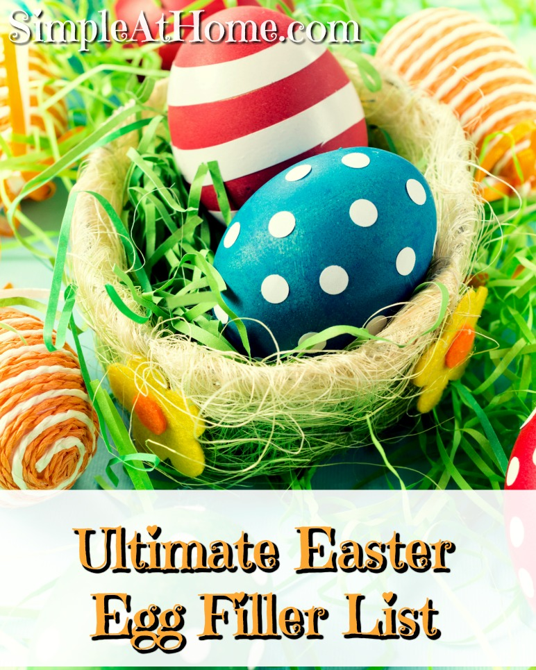 Food free easter eggs fillers to make you the coolest mom on the block