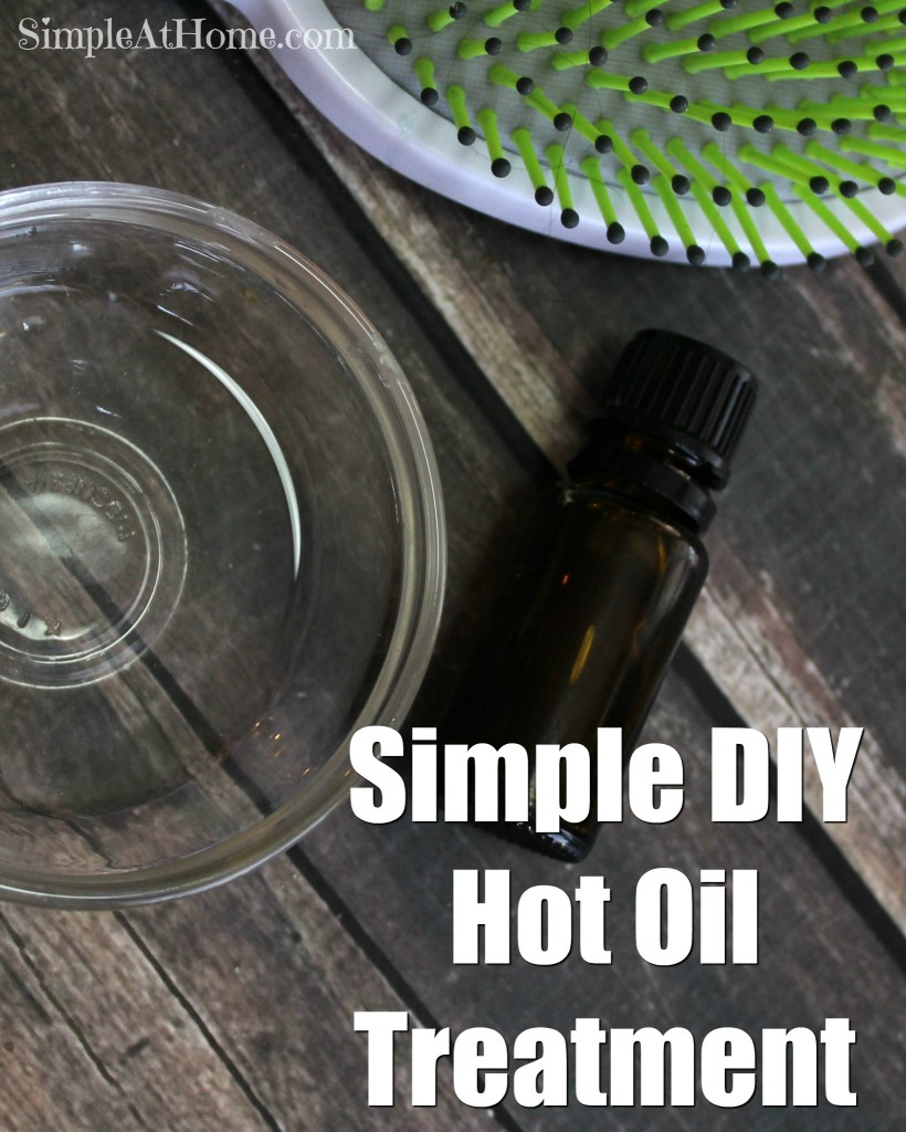 Simple hot oil treatment anyone can do in under 10 minutes.