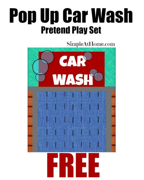 pop up car wash ad