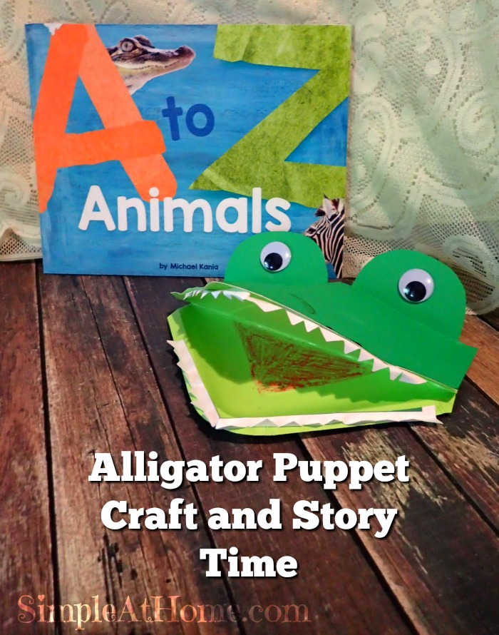 This cute alligator craft is perfect for using with these fun books.