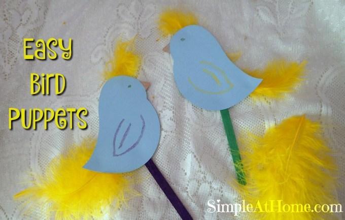 Bird Puppet Craft
