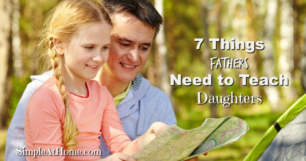 Ever wonder how being a father effects your daughter? Wonder what you NEED to teach your daughter? This parenting thing is not easy But we can make it simple