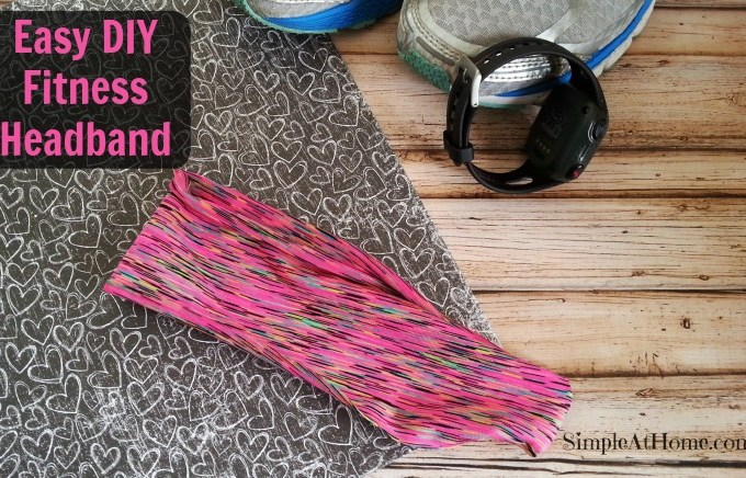 DIY Fitness Headband