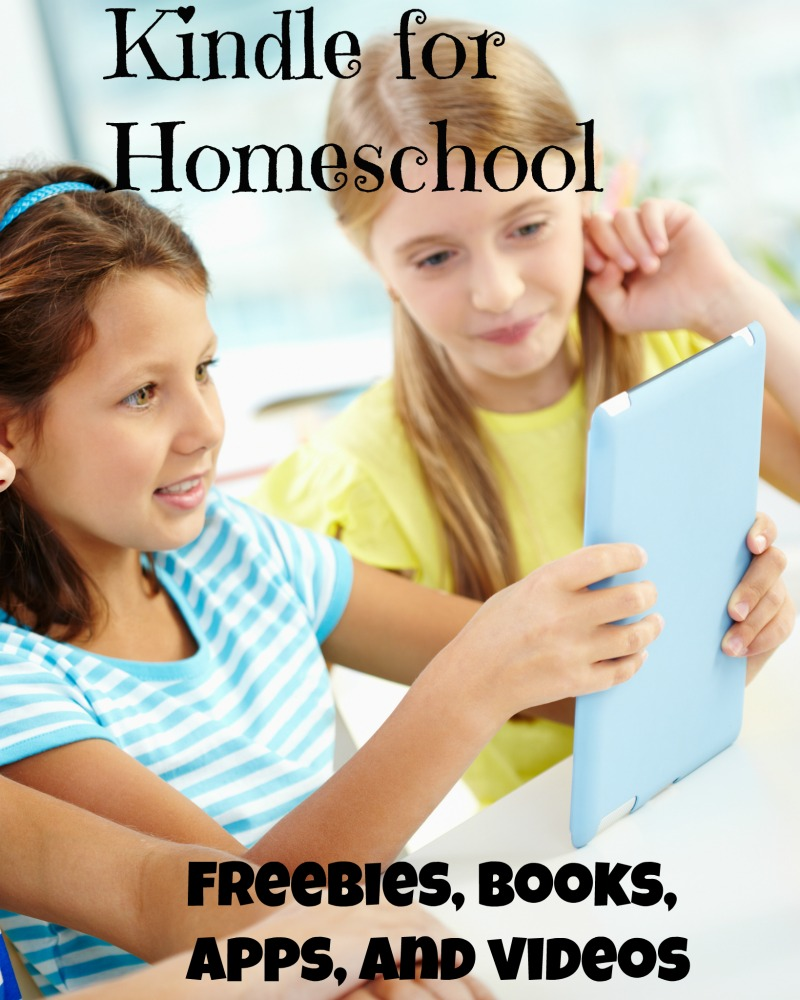 Looking to ad a little something to your homeschool? a Kindle may be just the key.