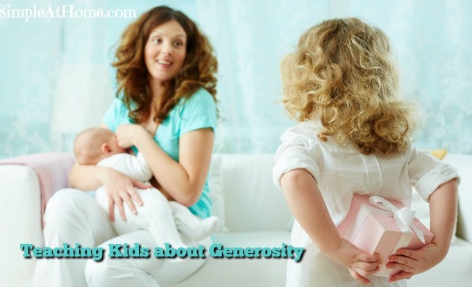 Teaching Kids about Generosity
