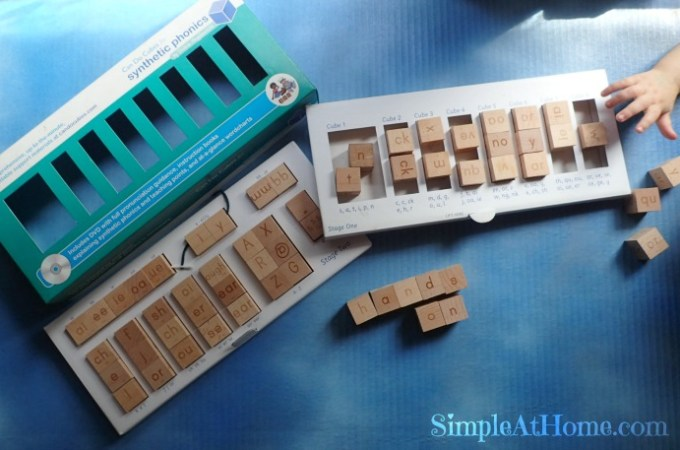 Jolly Literacy Can Do Cubes {review}
