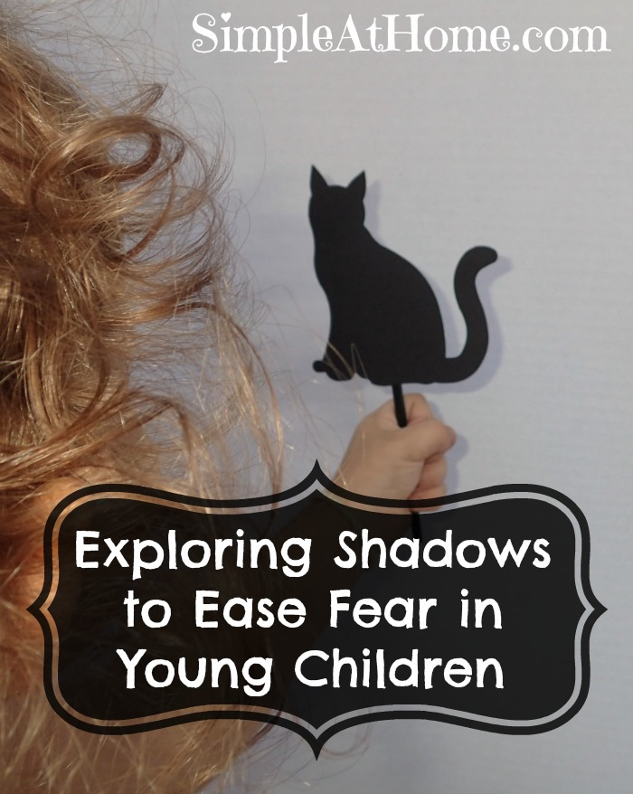 Helping children deal with fear by exploring shadows