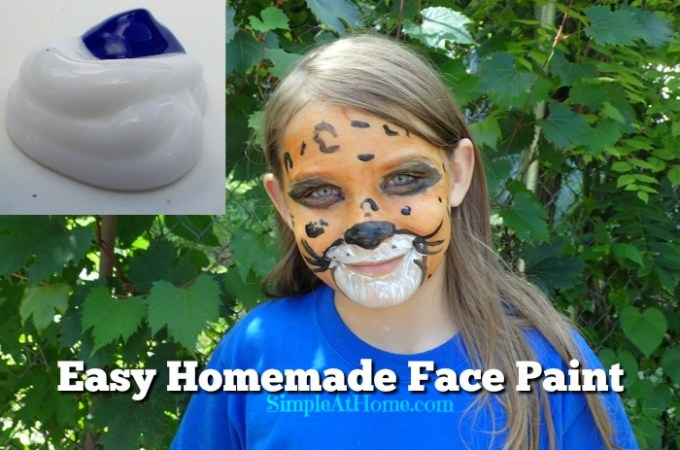 Homemade Face Paints