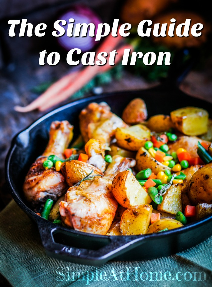 Care for cast iron tools and cookware