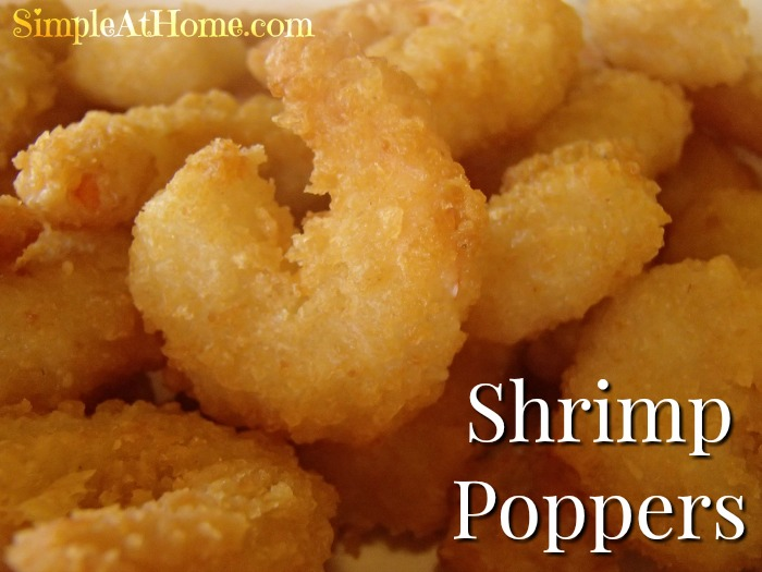 Homemade Popcorn Shrimp Poppers Simple At Home