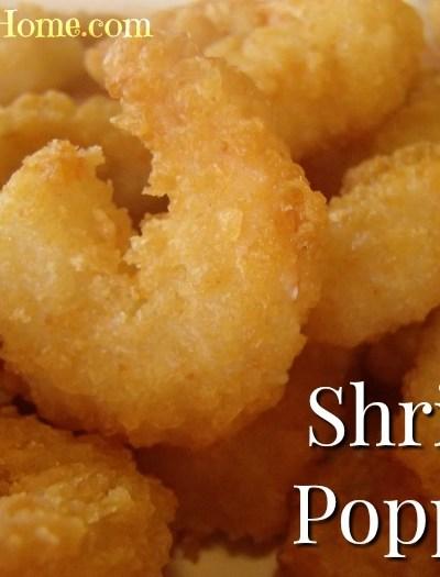 Homemade Popcorn shrimp poppers