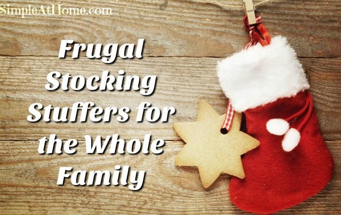 frugal stocking stuffers