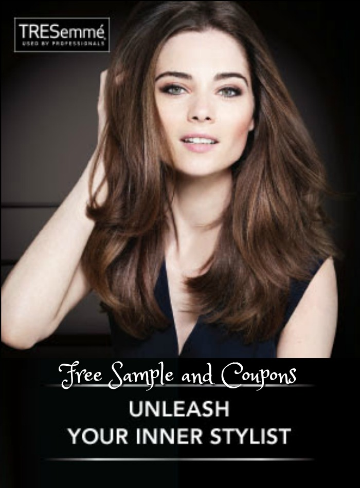 We all love great hair so naturally we just love freebies for great hair products from TREsemme