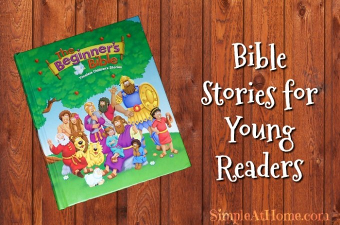 The Beginner's Bible: Bible Stories for Young Readers