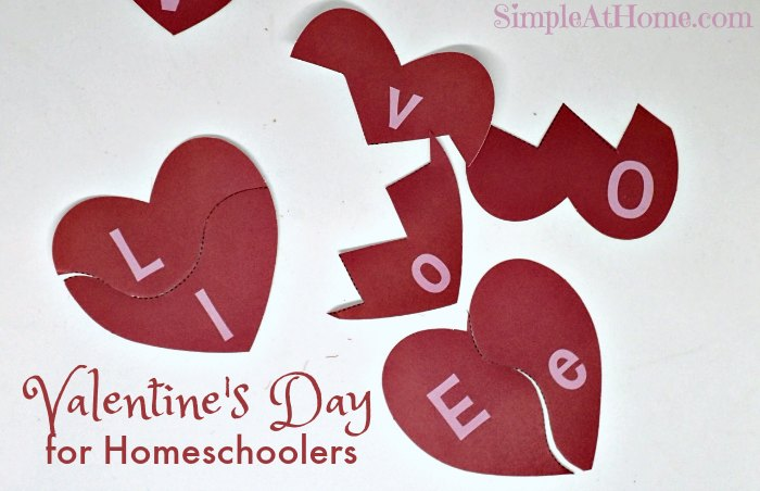 Fun Ways to Spend Valentines with your Homeschool Child