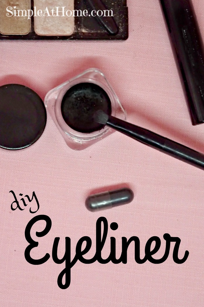 Make your own natural eyeliner with this easy DIY recipe