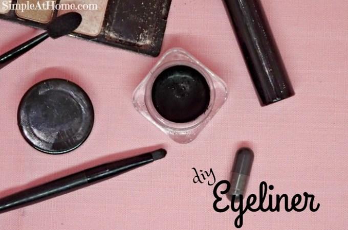 Make your own DIY eyeliner