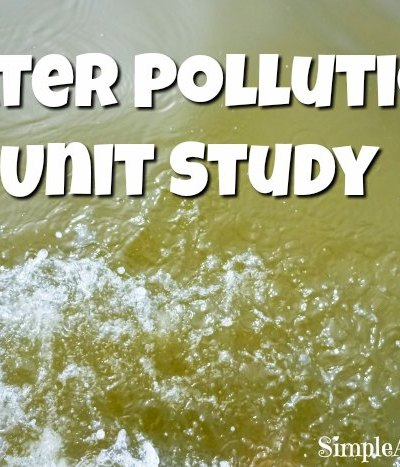 Water Pollution Unit Study