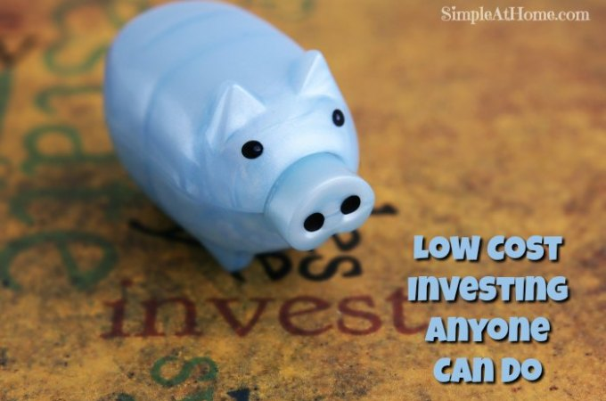 Low Cost Investing Anyone Can Do