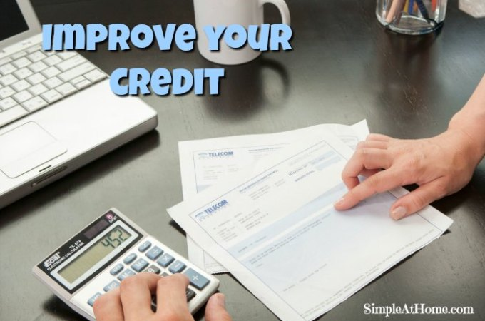 10 Simple Tips to Improve your Credit