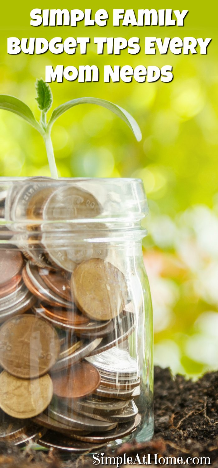 Simple Family Budget Tips Every Mom Needs