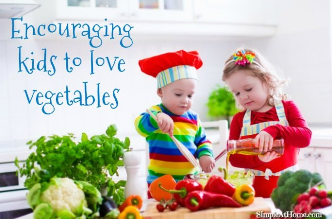 Raise Vegetable Loving Kids