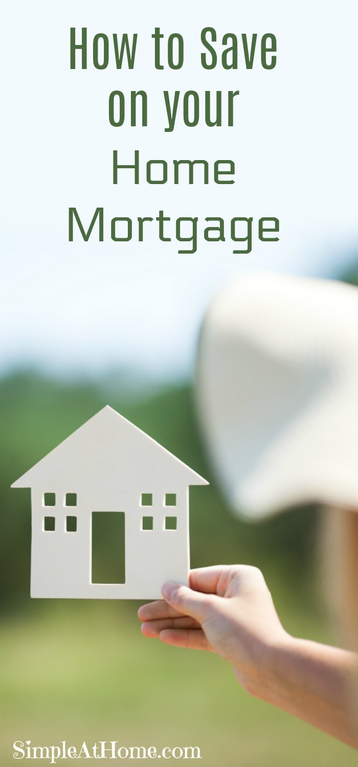 How to Save on your Home Mortgage | save money | frugal living | finances