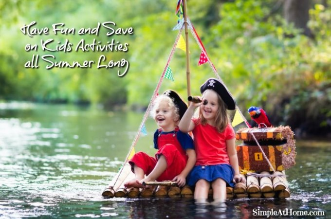Have Fun and Save on Kids Activities all Summer Long