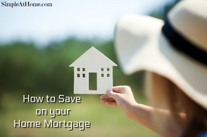 How to Save on your Home Mortgage