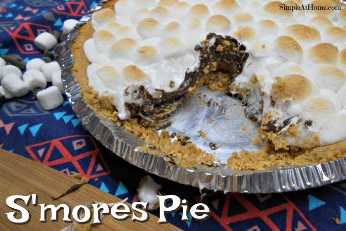 Simple S'mores Pie