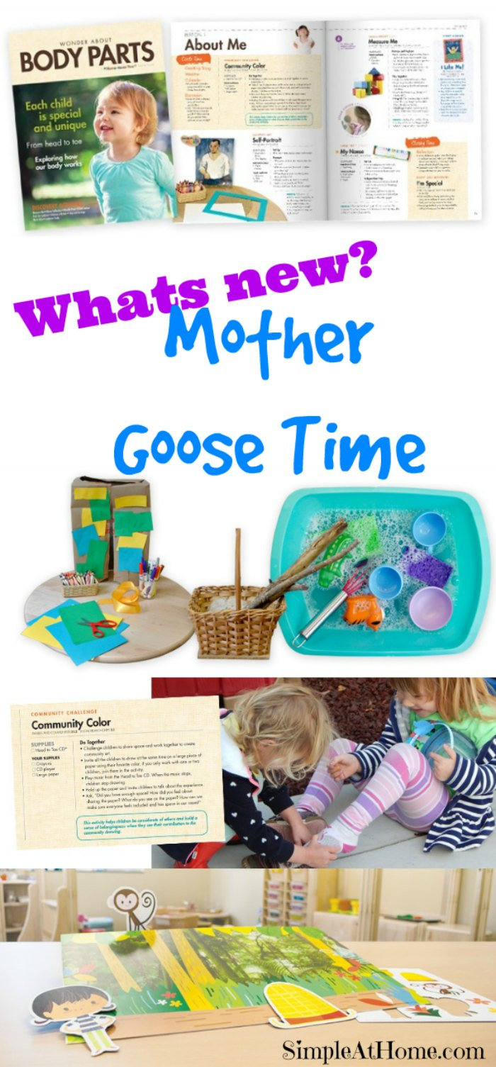 New this year with Mother Goose Time