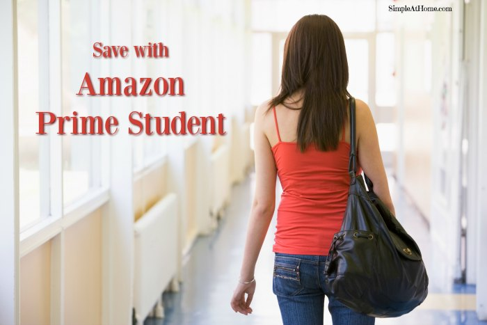 Amazon Prime Student Perks