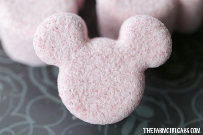 Micky Mouse Bath Bombs