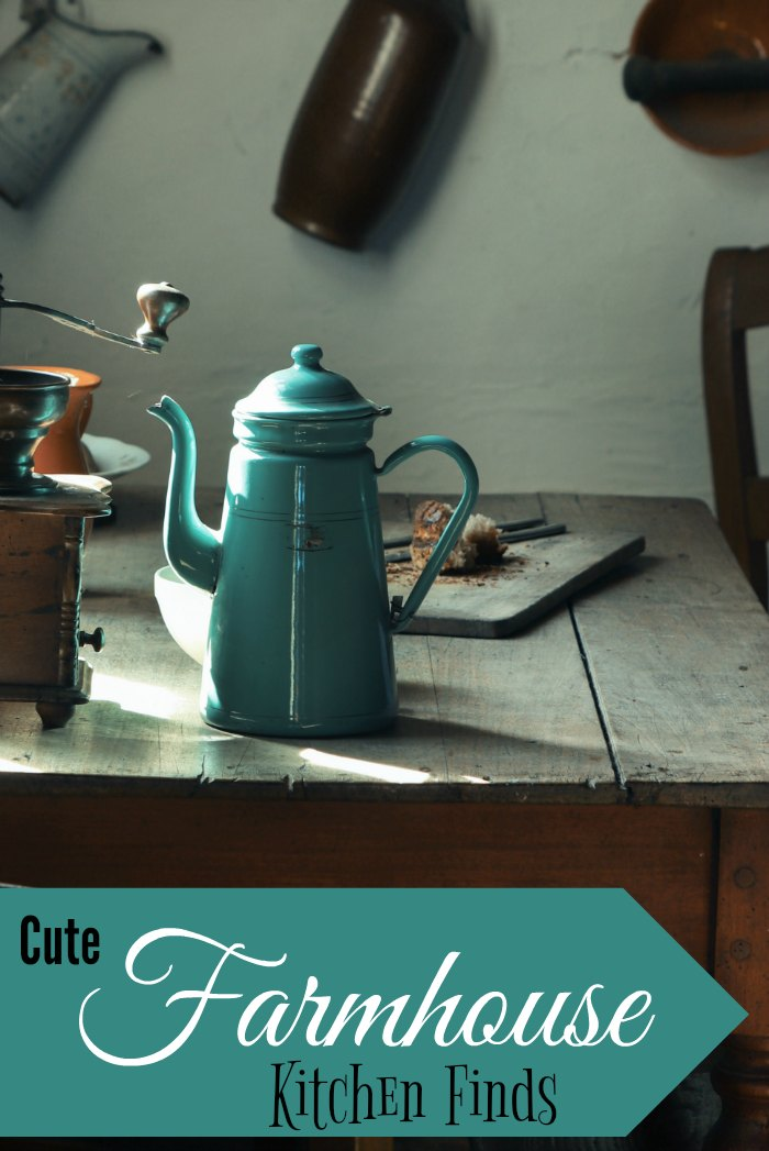 Cute finds for your farmhouse kitchen