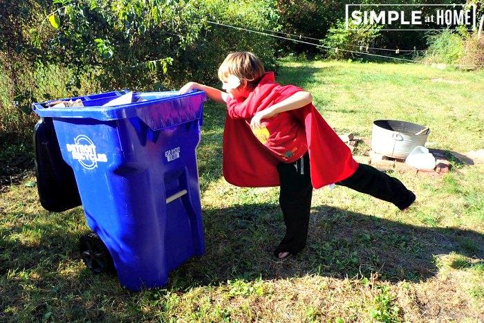 Recycling unit study