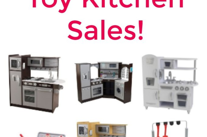 Toy Kitchens and Play Sets on sale.