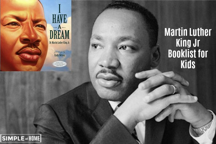 Martin Luther King Jr Booklist For Kids Simple At Home