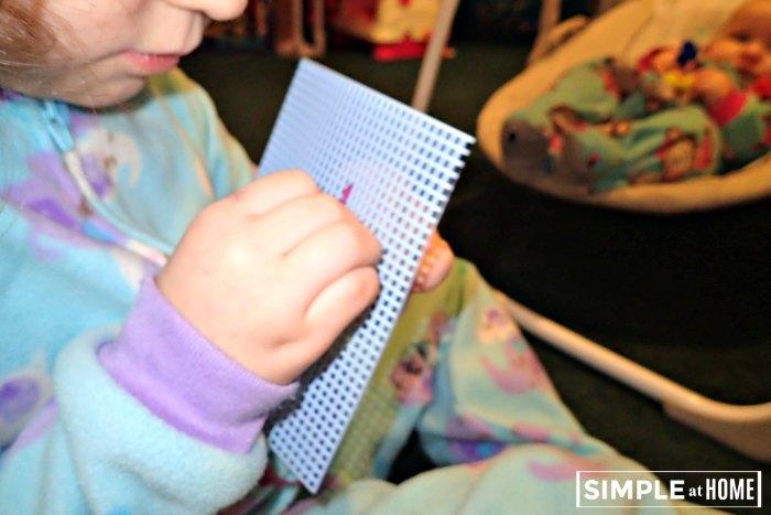 Sewing skills for preschool