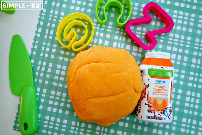 Orangeb Tangerine Playdough