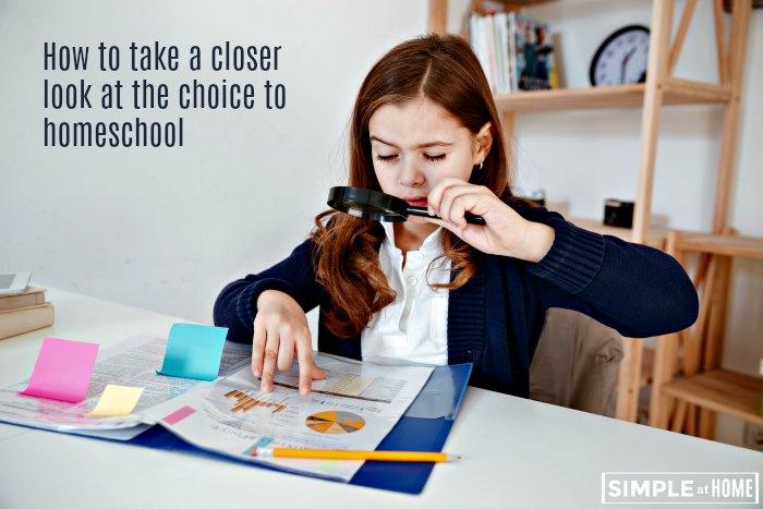 Help making the choice to homeschool