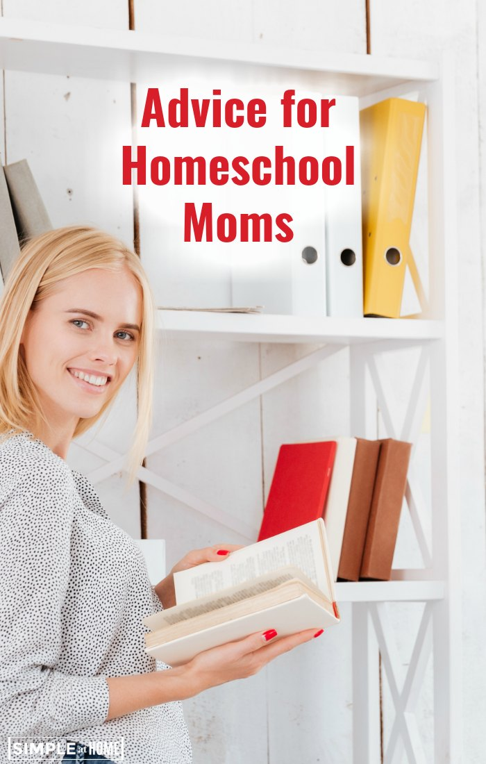 Real advice for homeschool moms from homeschool moms