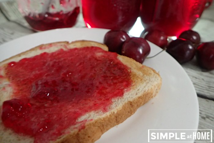 Simple Cherry Jelly