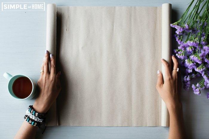 homemade warping paper ideas
