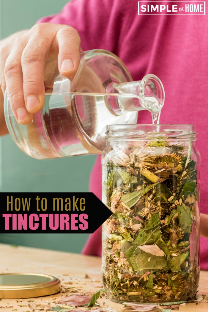 learn how to make tinctures