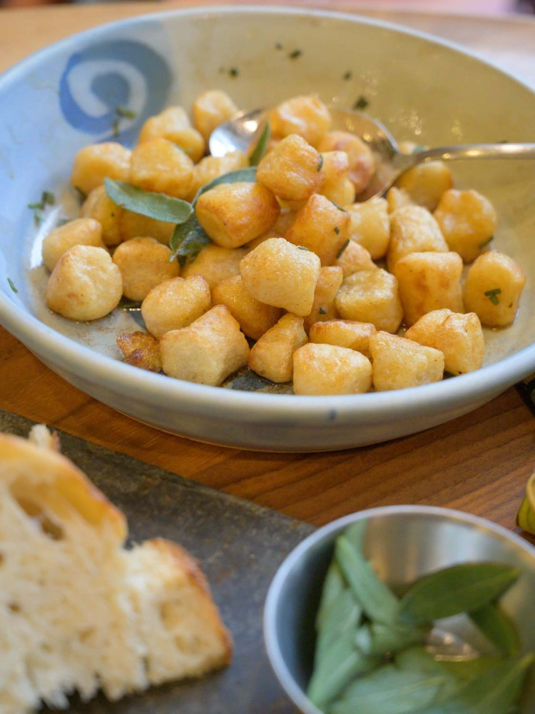 Trader Joes Cauliflower Gnocchi with Browned Butter