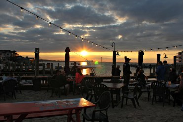 Sunset watch @fish tails in Ocean City MD