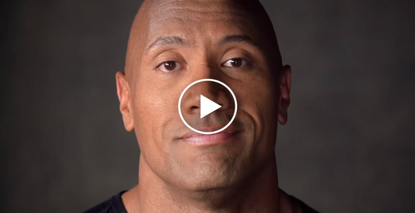 Dwayne The Rock Johnson Gives AWE INSPIRING Message To