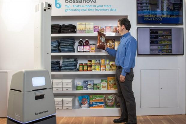 Bossa Nova's roving robots use of Intel Computer Vision integrat