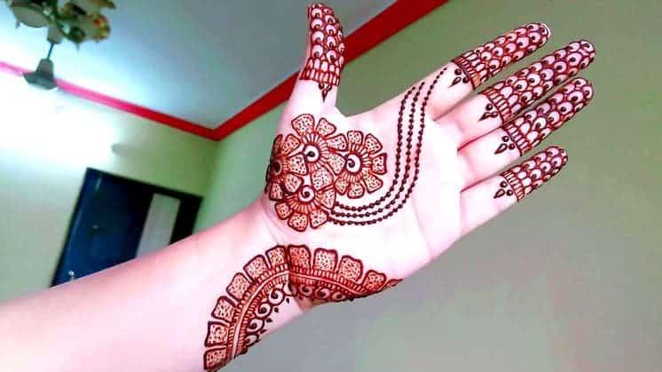 How To Make Arabic Mehndi Design Simple Craft Ideas