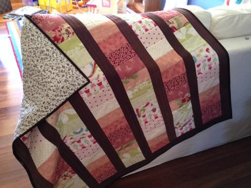 Lap quilt for Evie